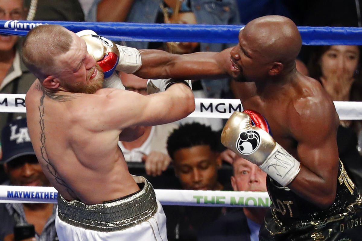 Las Vegas Sportsbook Profits McGregor Mayweather
