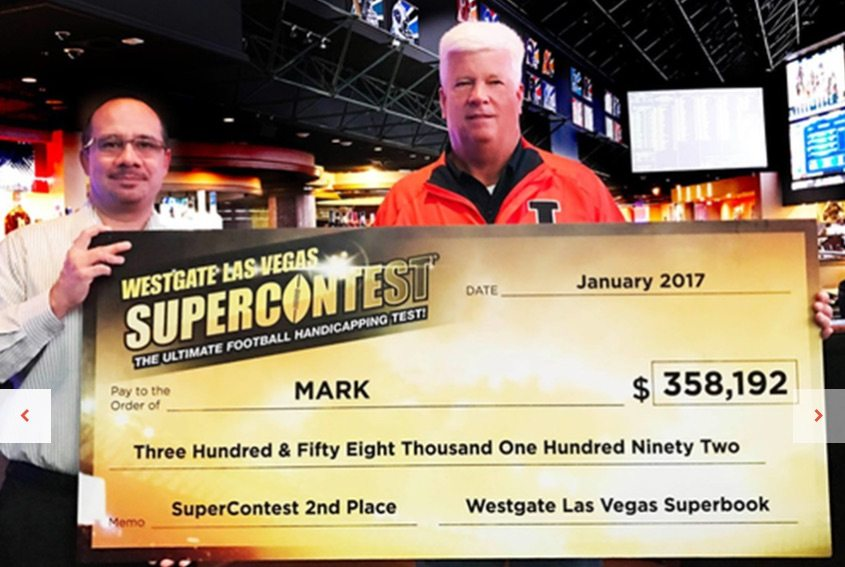 Las Vegas SuperContest winner in 2016 runner up is a farmer