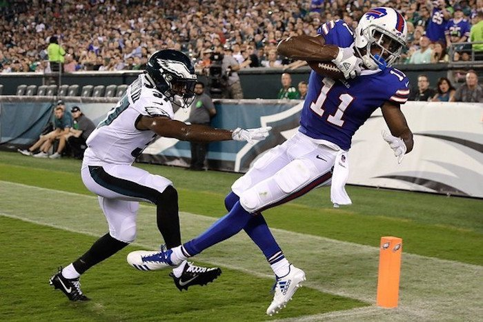 Zay Jones DraftKings NFL Week 1 Value Picks: QBs, RBs, WRs and TE