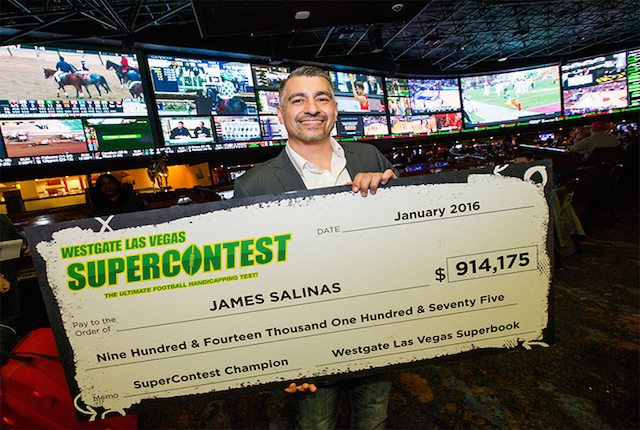 Las Vegas SuperContest Winner James Salinas' Sports Betting Rules Took Shape in the Playground