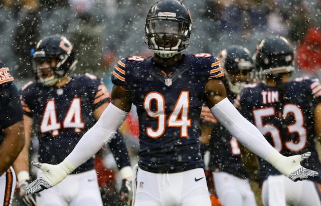 The Chicago Bears' LB Leonard Floyd could help Chicago rise in the ranks