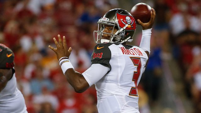 Tampa Bay Bucs QB Jamies Winston in the NFL Power Rankings middle pack