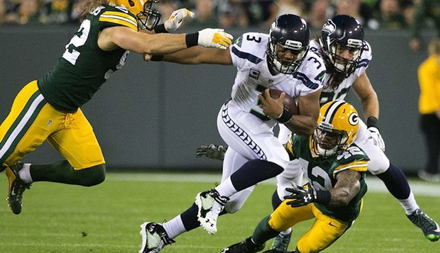 Russel Wilson Green Bay Packers