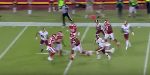 Touchdown on Redskins-Chiefs Final Play Upended the Spread in Wild Monday Night Football Finish