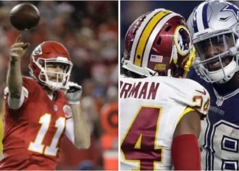 NFL Week 8 Picks, Projections, Cowboys-Redskins Clash, Chiefs Bounce Back, Seahawks Ground Texans, and Colts Recede Into the Abyss (at Cincinnati)