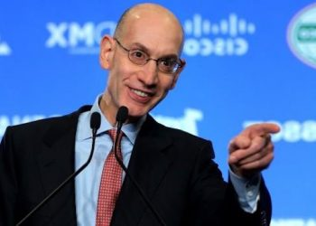 """NBA Commissioner Adam Silver Addresses Sports Betting on """"Golic and Wingo"""" on ESPN Radio, Explaining Why They're Fighting New Jersey and Advocating for Federal Sports Betting Framework"""