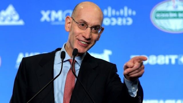 "NBA Commissioner Adam Silver Addresses Sports Betting on ""Golic and Wingo"" on ESPN Radio, Explaining Why They're Fighting New Jersey and Advocating for  Federal Sports Betting Framework"