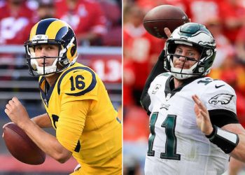 NFL Week 14 Picks, Projections, Eagles-Rams NFC Clash; Seahawks-Jaguars Intrigue; Eli Manning is Back; Chargers Keep Charging; Vikings Down Panthers