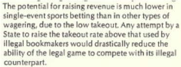 Overview of the1976 Commission on the Review of the National Policy Toward Gambling, AndCongressional Calls for Sports Betting Hearings