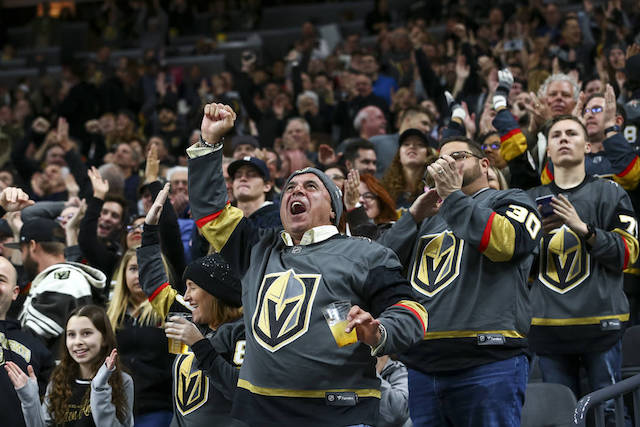 golden knights sports betting
