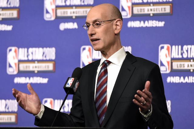 Adam Silver Proves That NBA's Sports Betting 'Integrity Fee' Is A Total Sham