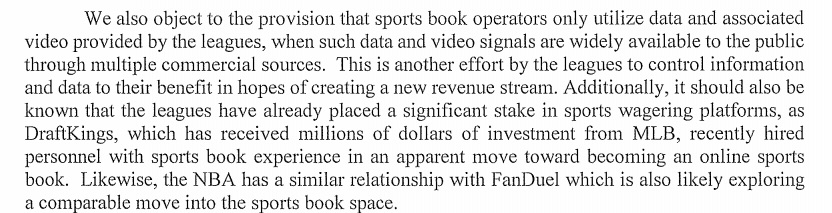 Kansas Sports Betting Discussion Brings Written Statement From Casino Group With Harsh Words For MLB, NBA Sports Betting Legislation and Talking Points