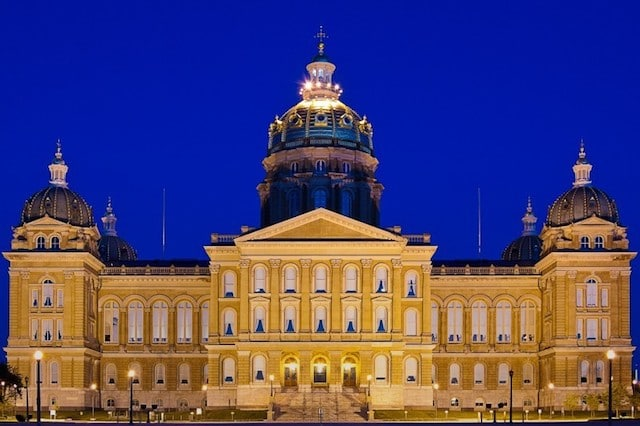 Iowa May Have a Special Session to Revisit Sports Betting Legislation