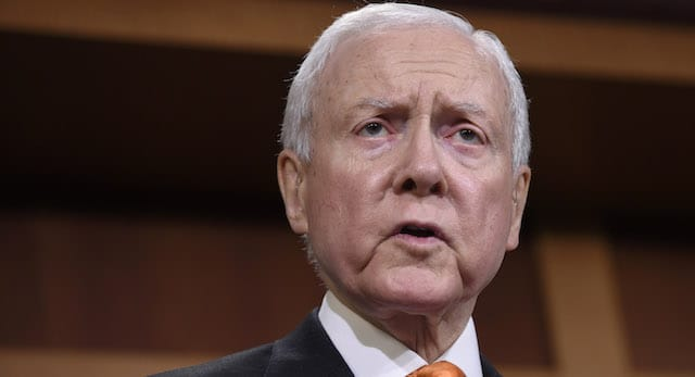 Republican Senator Hatch Sees Greater Threat to Sports Betting Now Than He Did in 1992, When He Helped Author PASPA.