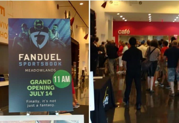 fanduel sportsbook launch meadowlands racetrack fanduel new jersey sports betting