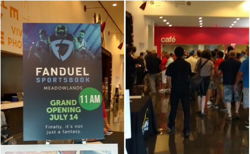 fanduel sportsbook launch meadowlands racetrack fanduel new jersey sports betting