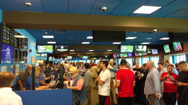 nj sports betting numbers handle for june from monmouth park sportsbook