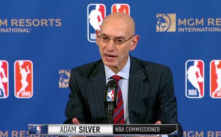 nba sports betting mgm adam silver data deal