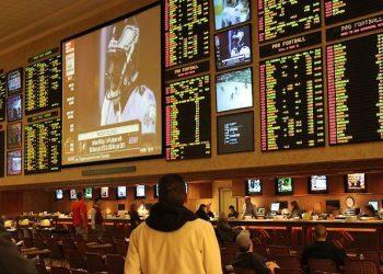 Sports Betting Photos Seen Everywhere Taken at Mandalay Bay on Las Vegas Strip