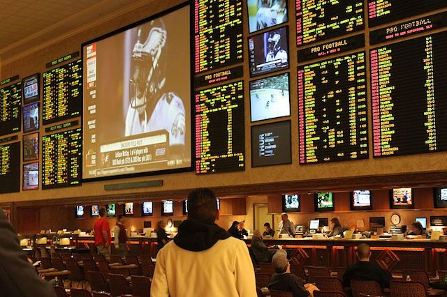 Sports Betting Photos Seen Everywhere Taken at Mandalay Bay on Las Vegas Strip