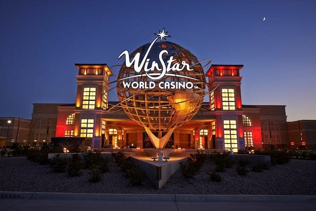 Dallas Cowboys sports betting WinStar World Casino Resort