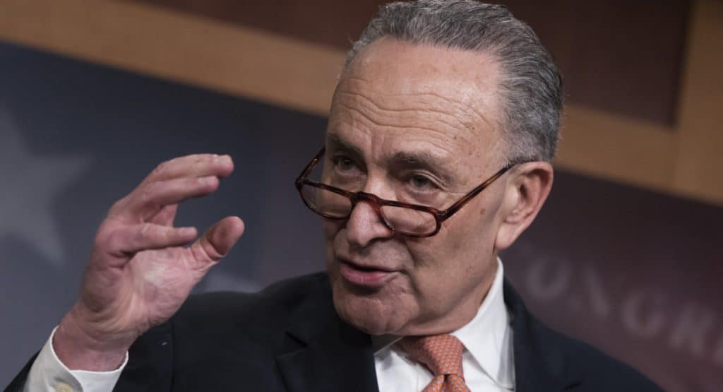 chuck schumer sports betting congress
