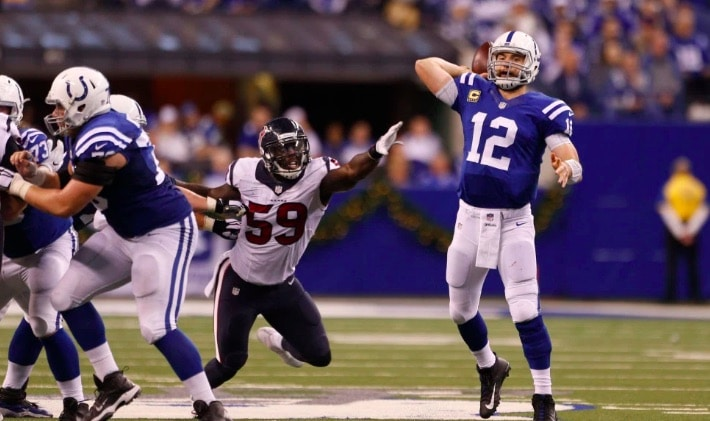 nfl lines betting week 4 colts texans spread