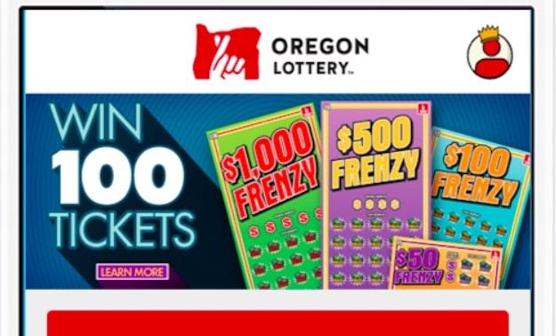 oregon sports betting mobile app via lottery