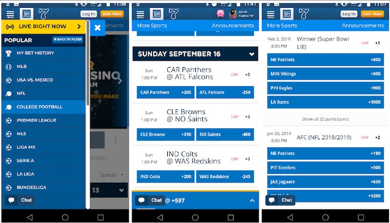 sugarhouse sportsbook online mobile screens review 3