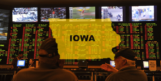 Iowa sports betting legalization sports betting bill governor race