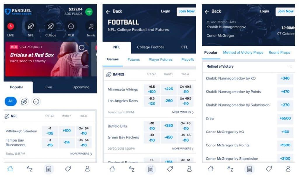 fanduel sportsbook review bonus code legal betting in nj and pa