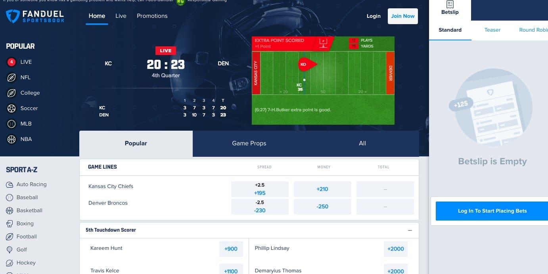 fanduel sportsbook bonus code sportsbook legal review