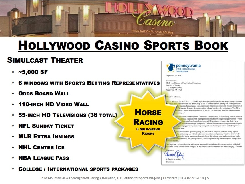 hollywood casino william hill sportbook pa legal