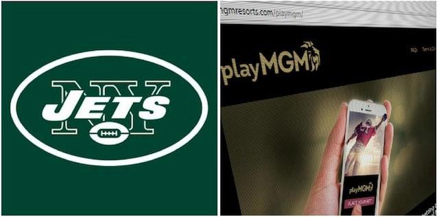 jets mgm marketing deal branding playmgm new york jets nfl