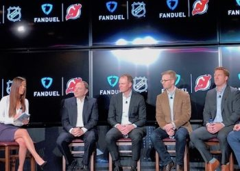 fanduel sportsbook nhl partnership deals devils