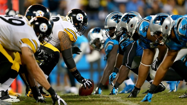 nfl betting steelers panthers week 10