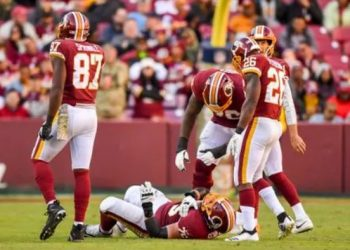 nfl lines injury reports redskins offensive line