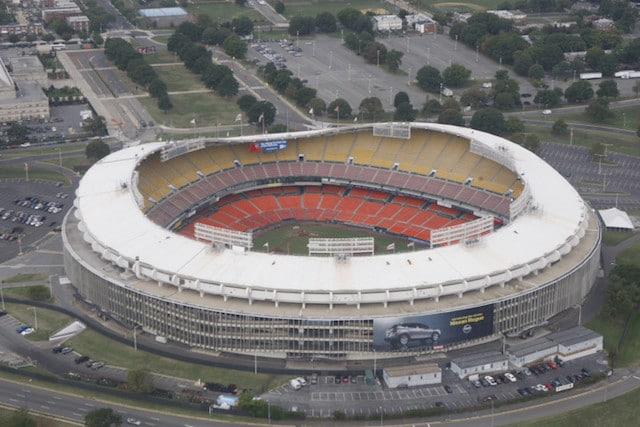 Washington DC RFK Stadium Sports Betting
