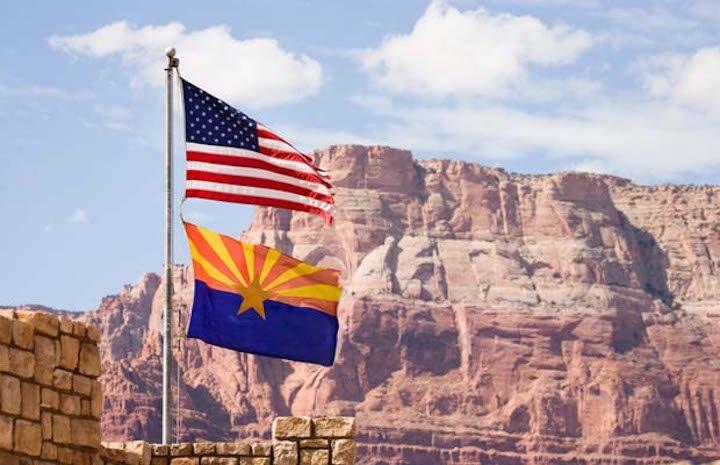 Arizona-US-Flags