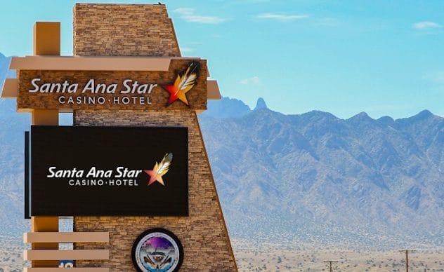 The Santa Ana Star Casino Hotel in Bernalillo, NM
