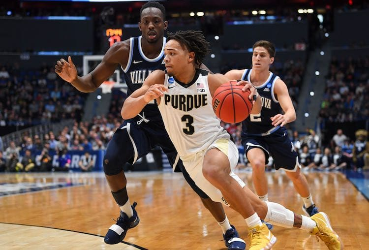 Purdue Boilermakers guard Carsen Edwards