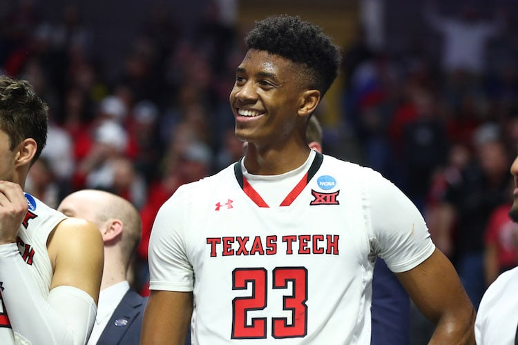 Texas Tech Red Raiders guard Jarrett Culver