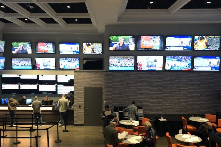 sportsbook at Twin River Casino