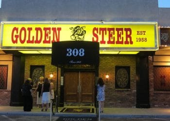 A Bob Martin favorite meeting place, Las Vegas' Golden Steer.