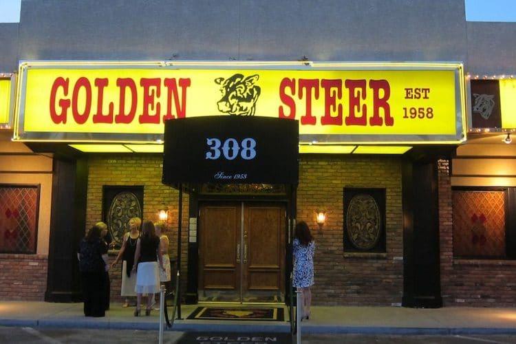 A Bob Martin favorite meeting place, Las Vegas' Golden Steer.