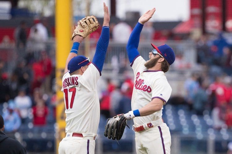 MLB: New York Mets at Philadelphia Philliesrh