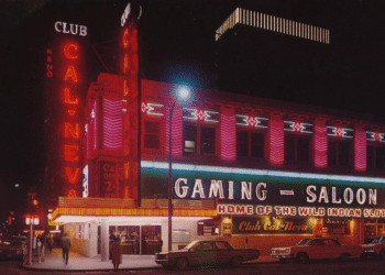 Historic downtown Reno's Club Cal-Neva, once the city's top sportsbook.