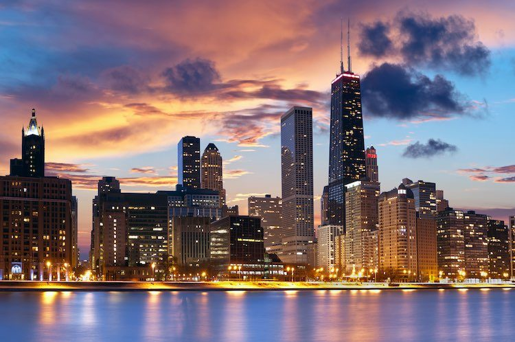 Chicago, Ill. skyline (Shutterstock)
