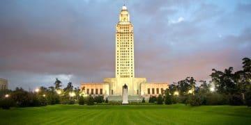 Louisiana Capitol Building (Shutterstock)
