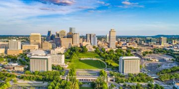 Nashville, TN State Capitol Skyline (Shutterstock)
